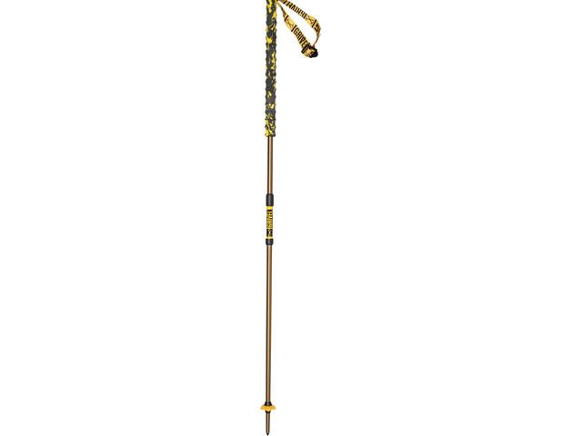 Grivel Trail 2 Poles foldable titanium, brown